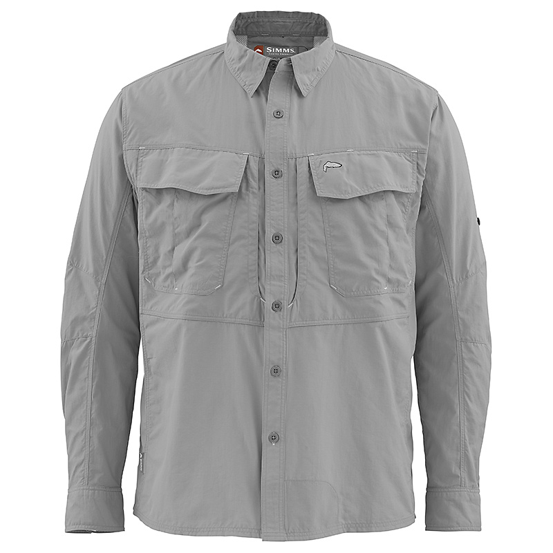 Рубашка Simms Guide Shirt (L, Concrete)