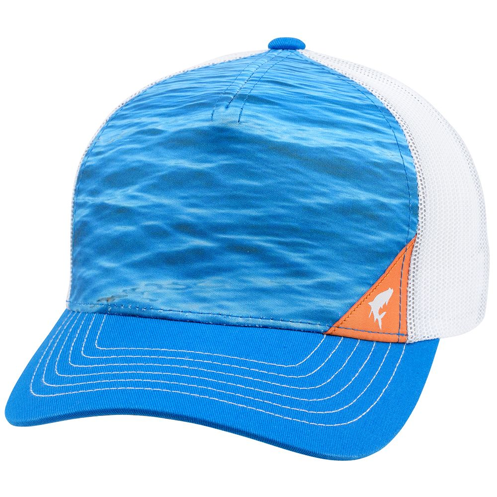 Кепка Simms Five Panel Trucker Cap (Water Electrc Blue)