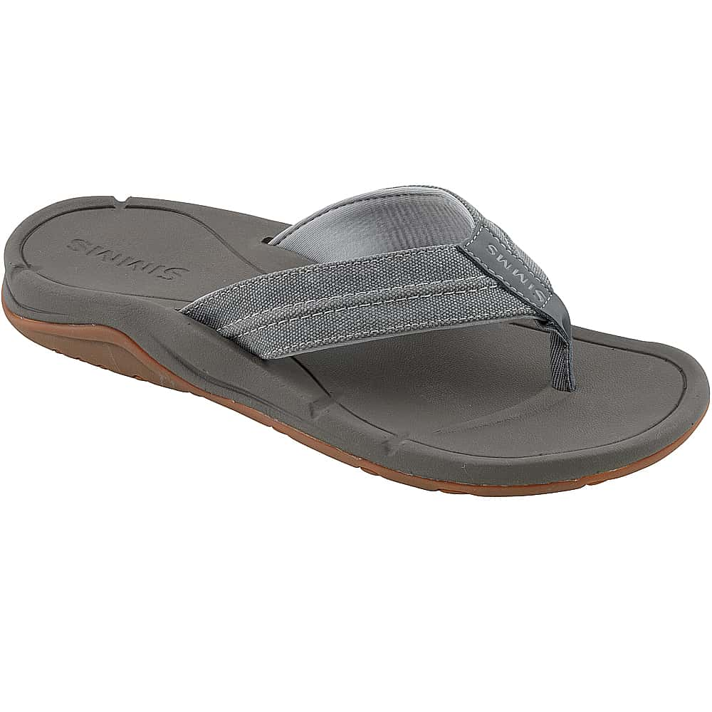 Шлепанцы Simms Westshore Flip (9, Charcoal)
