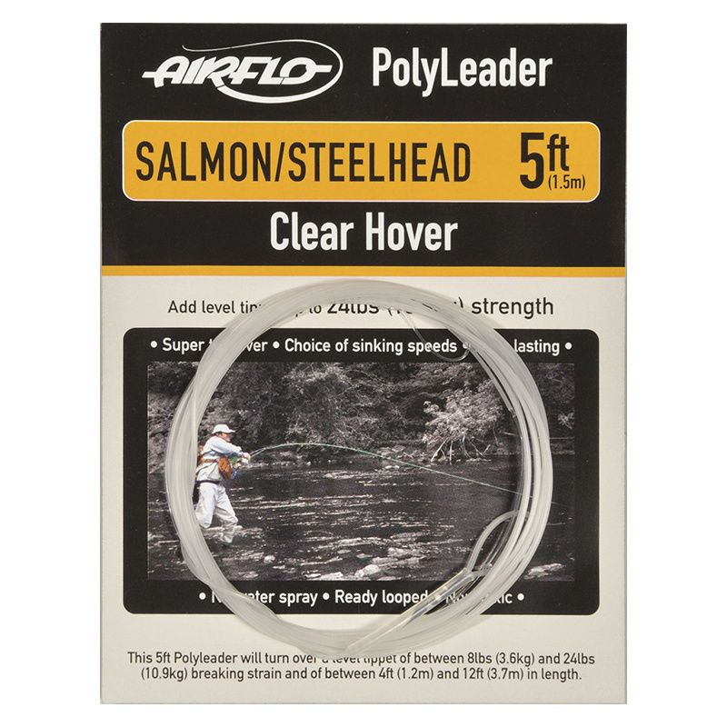 Полилидер Airflo Salmon/Steelhead 5' (5 ft., 24lb, Clear Floating)