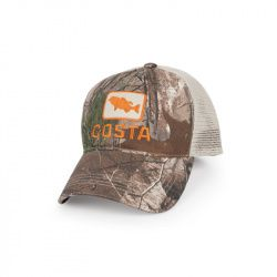 Кепка Costa Bass Trucker Hat (Real Tree Camo/Stone)