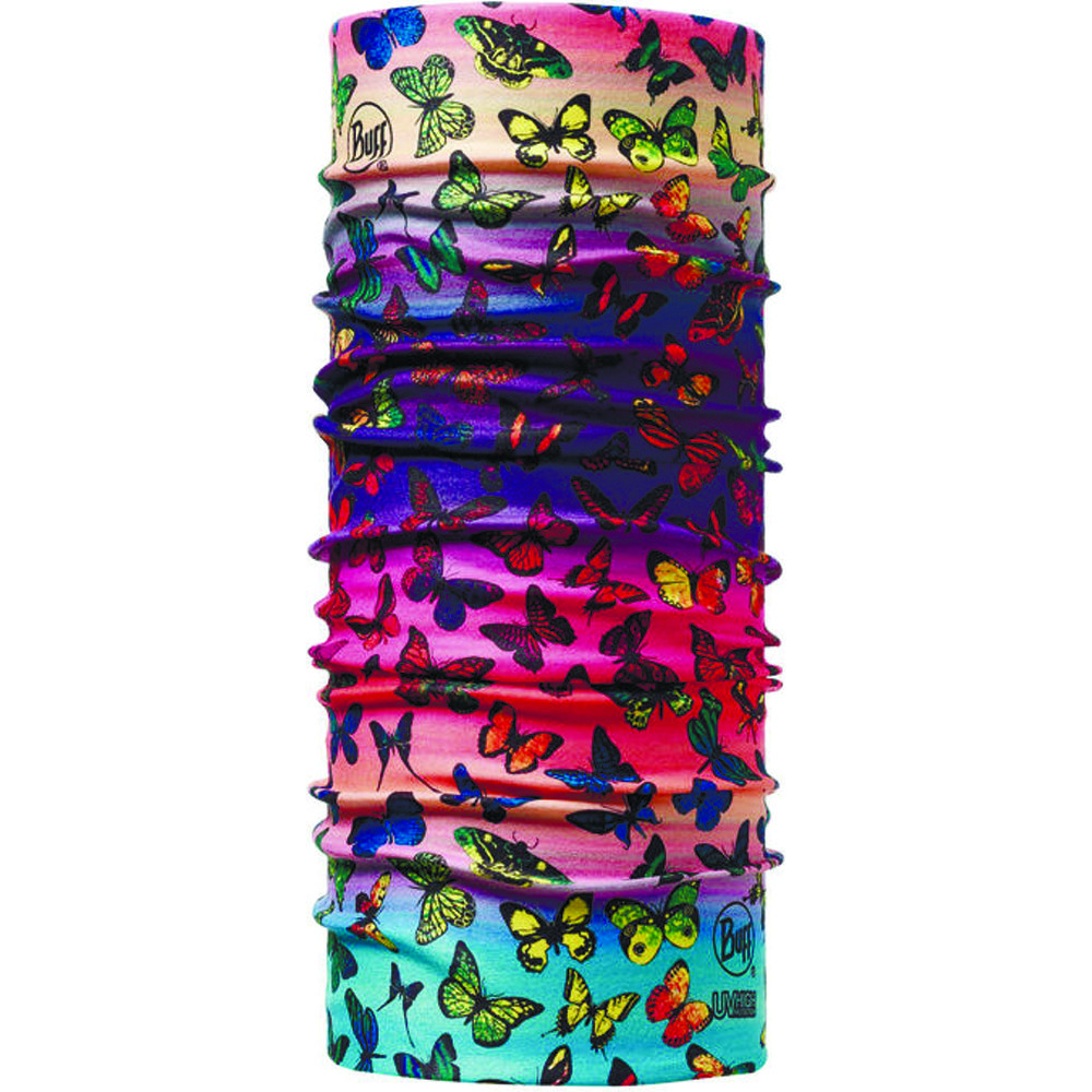 Бандана Buff Junior High UV Protection Buff Colorfly (Colorfly)