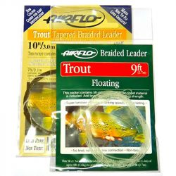 Подлесок плетеный Airflo Braided Tapered Trout Leader 5' (Intermediate)