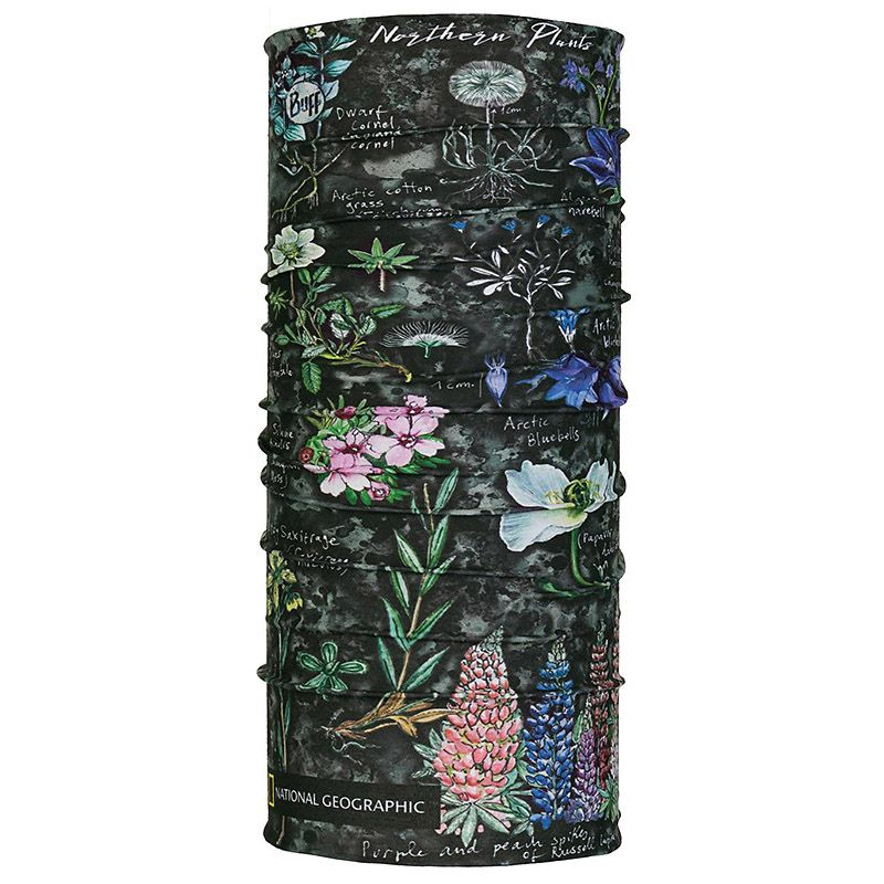 Бандана Buff Original Buff National Geographic Artic Flowers Grey