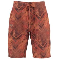 Шорты Simms Surf Short - Print (M, Velosity Print Orange)