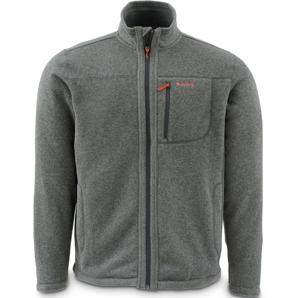Куртка Simms Rivershed Sweater Full Zip (XL, Dk. Shadow)