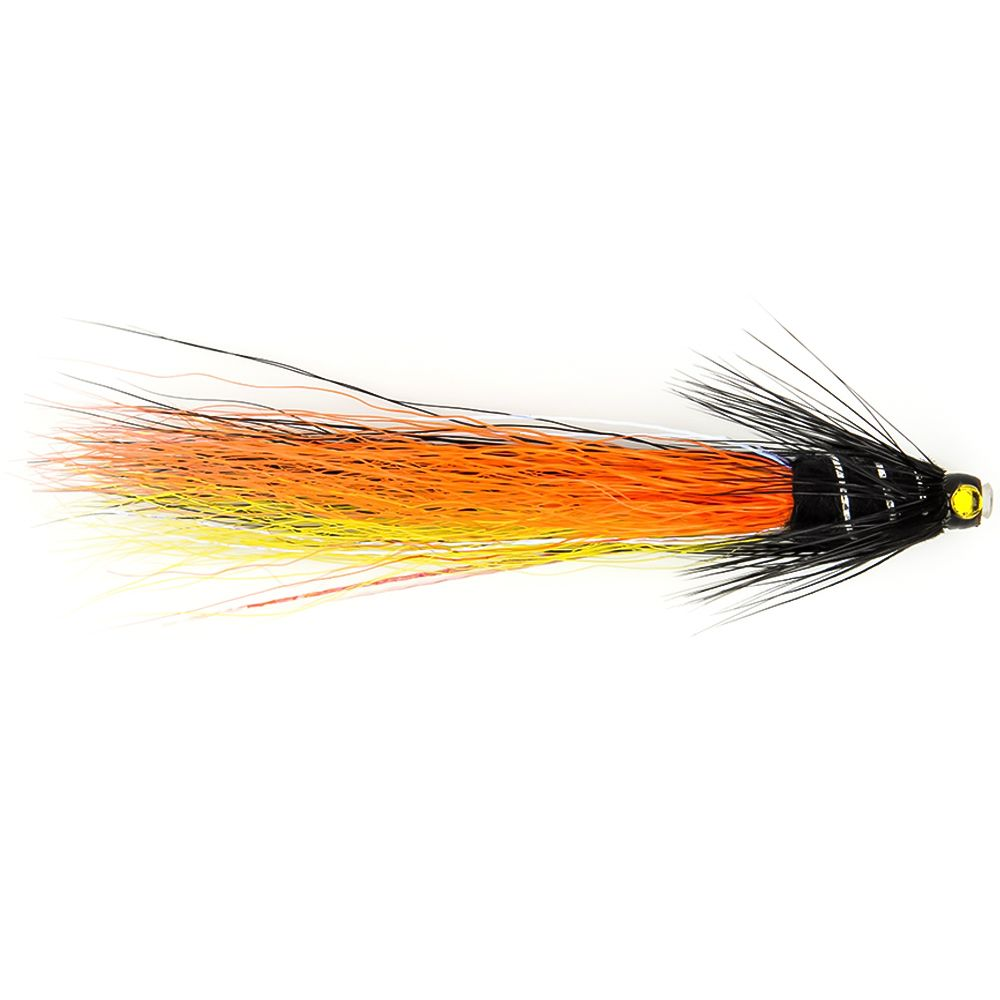 "Мушка SF Snaelda-Krinkle-Yellow/Orange/Black Copper Tube (3/4"")"
