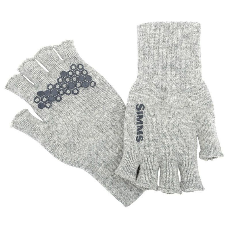 Перчатки Simms Wool Half-Finger Glove