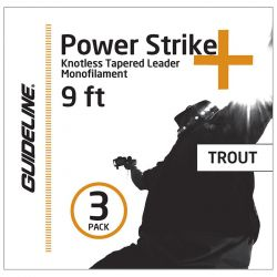 Подлесок Guideline Power Strike+ Trout Leader 3-Pack