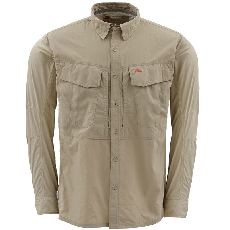 Рубашка Simms Guide Shirt (S, Cork)
