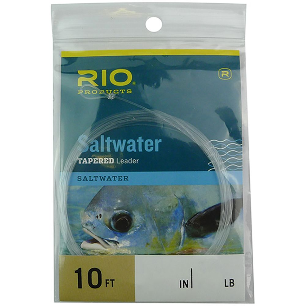 Подлесок Rio Saltwater Leader (10 ft., 10lb, 4.5kg)