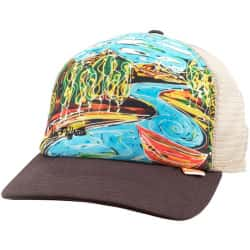 Кепка Simms Artist Series Trucker Cap (Dripping Trees Bark)