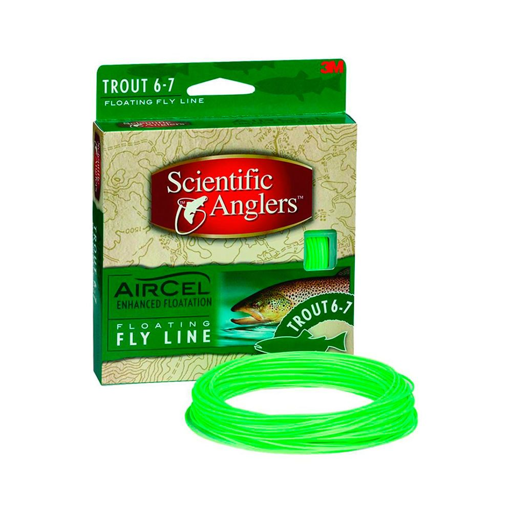 Шнур Scientific Anglers Air Cel (WF8F, Light Green)