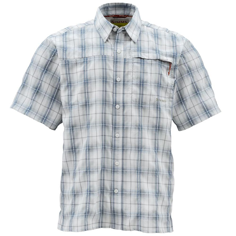 Рубашка Simms Outer Banks SS Shirt (M, Atlantic Plaid)