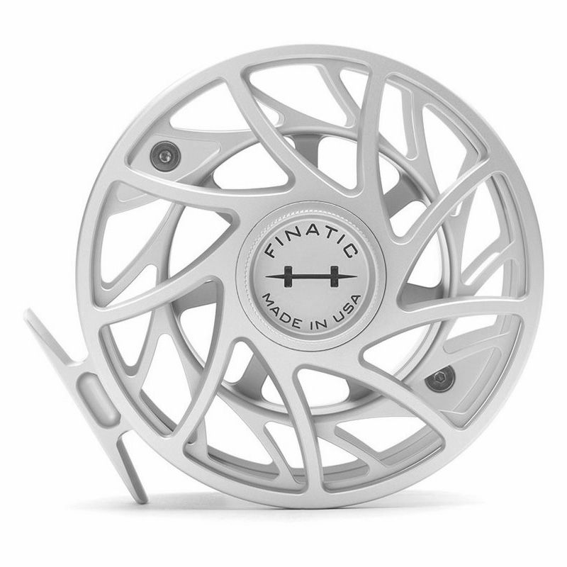 Катушка Hatch Finatic 12 Plus (#12/14, Mid Arbor, Clear/Black)
