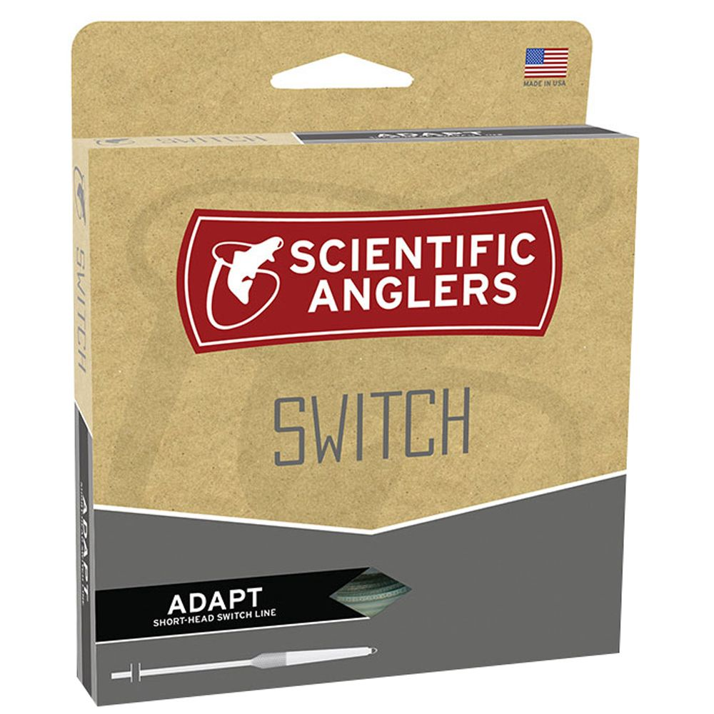 Шнур Scientific Anglers Switch Adapt (440 Grain, Floating, Willow/Peach/Willow)