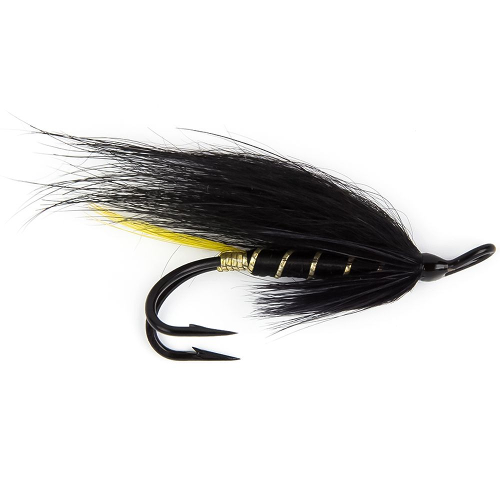 Мушка SF Stoats Tail Double (#4 (Black/Partridge P))