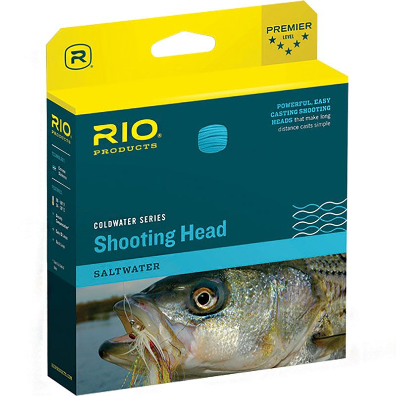 Шнур Rio Outbound Short Shooting Head (ST7S3, Brown)