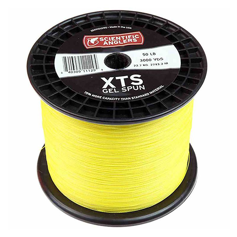 Бэкинг в размотку Scientific Anglers XTS Gel Spun Backing 3000yds 2730m Bulk