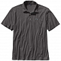 Рубашка Patagonia Polo - Trout Fitz Roy (L, Forge Grey)